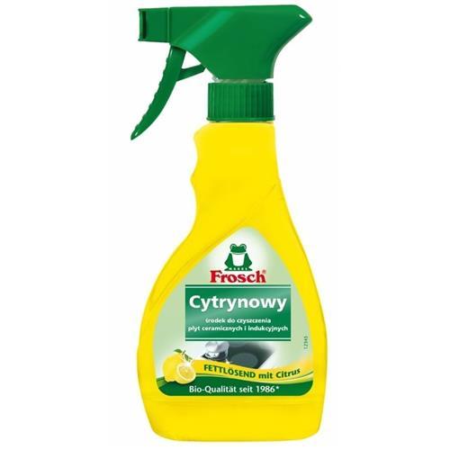Frosch Cytrynowy Spray Do Kuchenek Ceramicznych Indukcyjnych 300ml