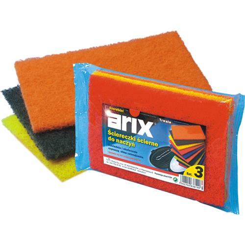 Arix Splendelli Czyściki Ścierne Kolor 3 szt T1222