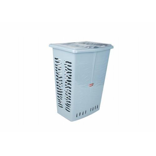 Branq Prostokątny Kosz Na Bieliznę Zebra 42l Niebieski 1403
