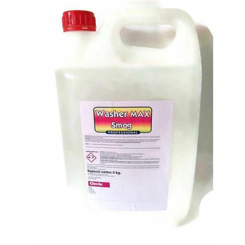 Płyn do czyszczenia osadów smolistych i tłuszczu Washer Max Smog 5kg Clovin