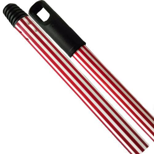 Kij Drążek Gumowany Czerwony 130cm F