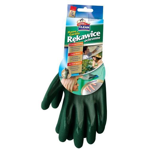 Gosia Rękawice Ochronne S/M Zielone Home Garden 2937