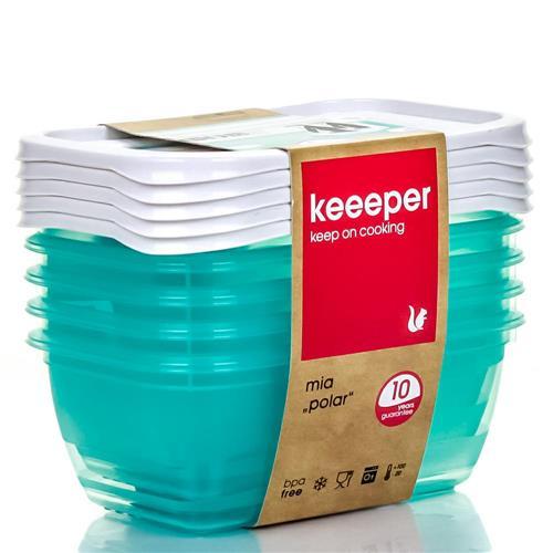 Keeeper Komplet Pojemników Polar 5x0,5l 3068