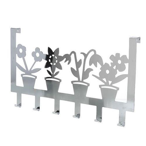 Wieszak Na Drzwi Kwiatki Rybki 6 Haków H
