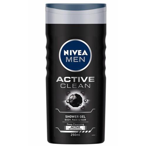 Nivea Men Żel Pod Prysznic 250ml Active Clean