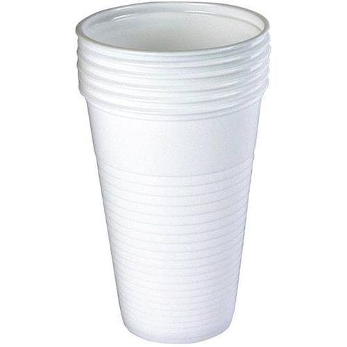 Kubek Plastikowy Jednorazowy Biały Do Zimnych Napojów 200ml 100szt