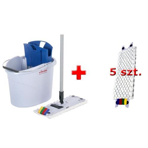 Vileda Zestaw Ultraspeed Mini + 5 wkładów Microlite