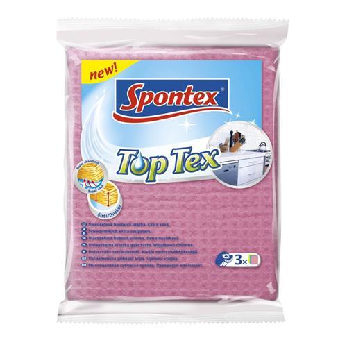 Spontex Ścierka Top Tex gšbkowa A3 97042163