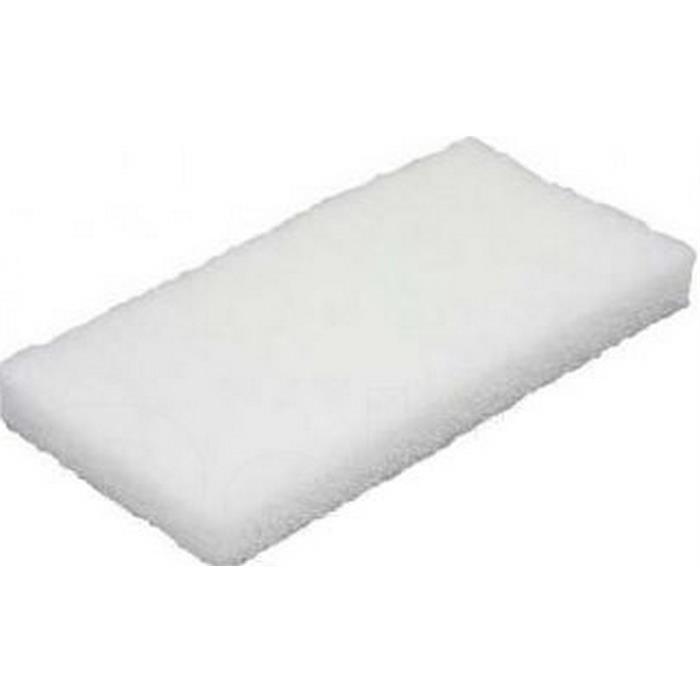 Czyściwa, papiery, pady - Vileda Pad Ręczny Super Biały 12x26cm 114900 Vileda Professional -