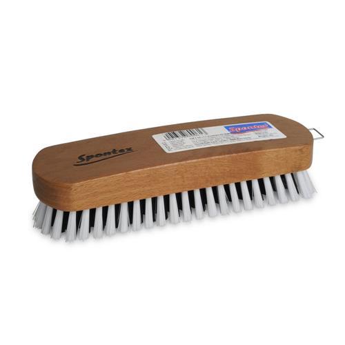 Drewniana szczotka do ubrań 97080061 Spontex
