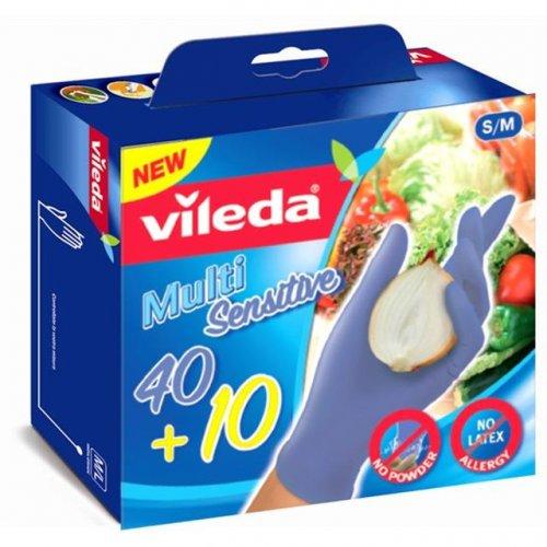 Rękawice Multisensitive 50szt M/L 146084 Vileda