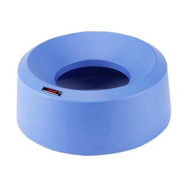 Kosze do segregacji śmieci - Vileda Iris okrągła pokrywa lejkowa niebieska 137669 Vileda Professional -