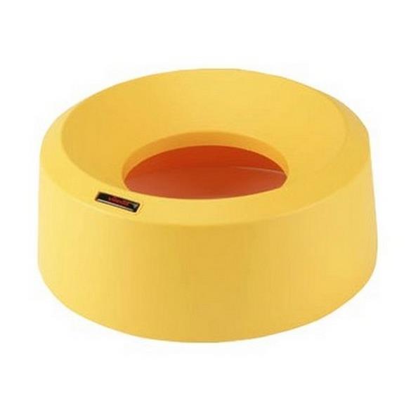 Kosze do segregacji śmieci - Vileda Iris okrągła pokrywa lejkowa żółta 137672 Vileda Professional -