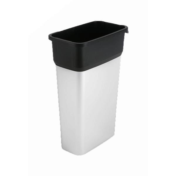 Kosze do segregacji śmieci - Vileda Geo Kosz Metalizowany 55l 137660 Vileda Professional -
