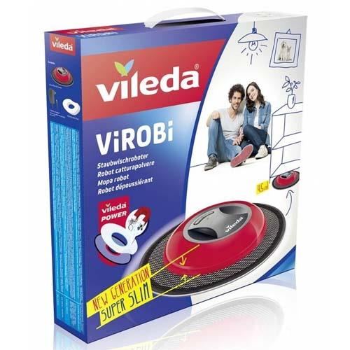 Mopy i wiadra - Vileda Virobi Slim mop automatyczny 149928 -