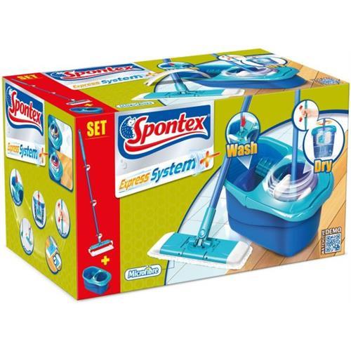 Spontex Express System + Zestaw Mop + Wiadro 50335