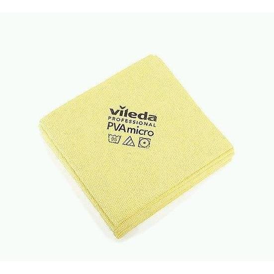 Gąbki, ścierki, szczotki - Vileda Ścierka PVA Micro Żółta 143587 Vileda Professional -
