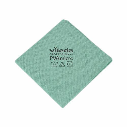 Gąbki, ścierki, szczotki - Vileda Ścierka PVA Micro Zielona 143588 Vileda Professional -