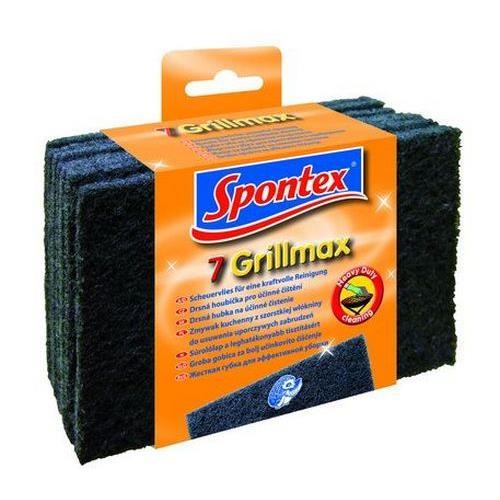 Druciaki, czyściki, zmywaki - Spontex Zmywak szorstki Grillmax 7szt 70008 -