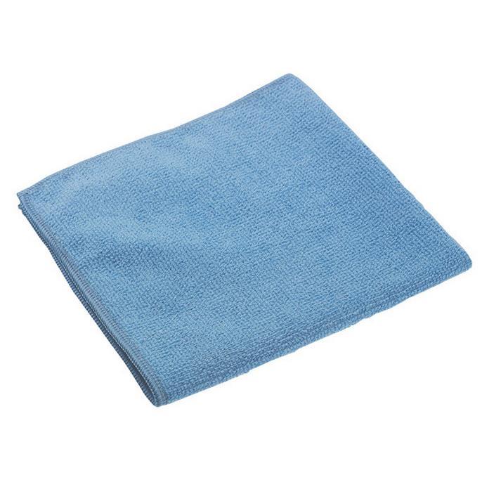Gąbki, ścierki, szczotki - Vileda Ścierka Microtuff Swift Niebieska 129154 Vileda Professional -