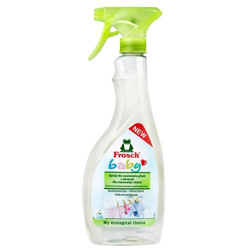 Frosch Odplamiacz Baby Spray Do Usuwania Plam Z Ubranek Dziecięcych 500ml