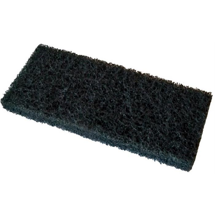 Czyściwa, papiery, pady - Vileda Pad Ręczny Super Czarny 12x26cm 114898 Vileda Professional -