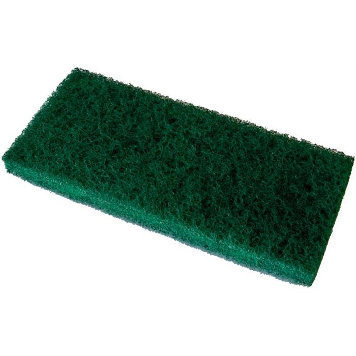 Czyściwa, papiery, pady - Vileda Pad Ręczny Super Zielony 12x26cm 114897 Vileda Professional -