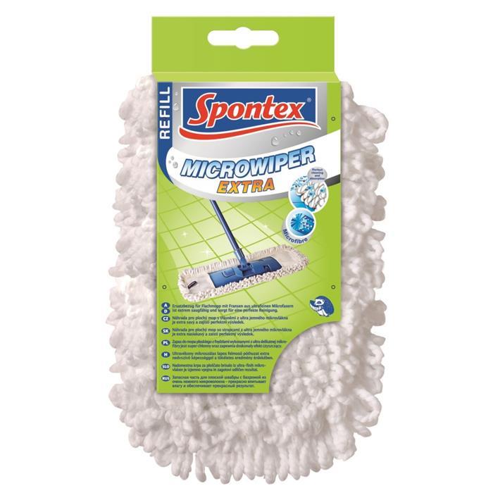 Wkłady zapasy do mopów - Spontex Microwiper Extra Wkład 97050154 -