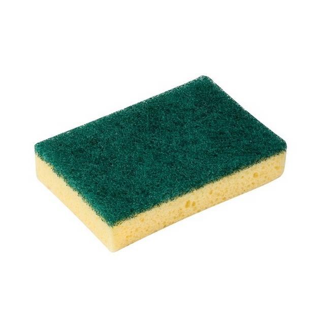 Druciaki, czyściki, zmywaki - Vileda Zmywak 2+1 Glitzi Zielony Pad 139924 -