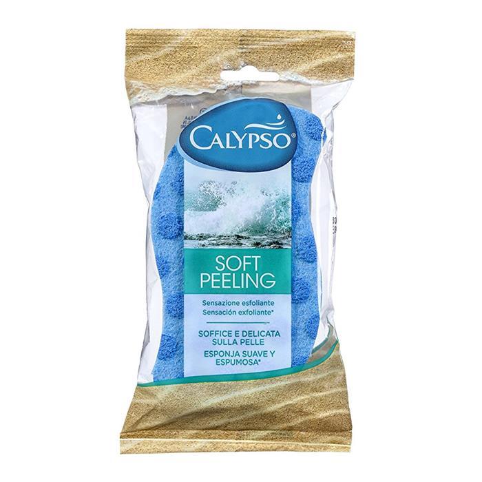Gąbki, myjki, pumeksy kąpielowe - Spontex Calypso Gąbka Soft Peeling 20199  -