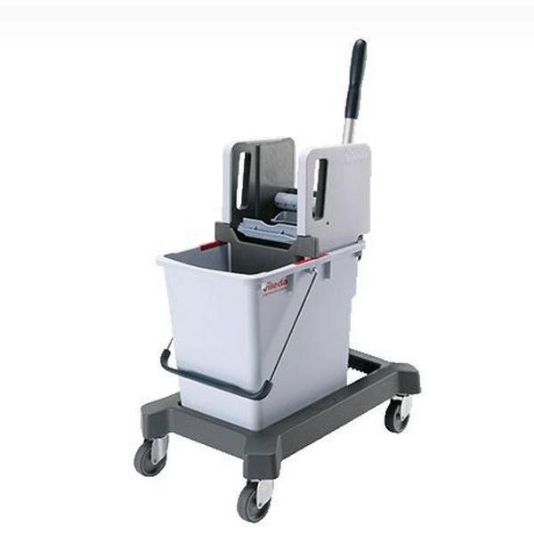 Zestawy sprzątające - Vileda Ultraspeed Wózek Z Prasą Wertykalną  25l 149091 Vileda Professional -