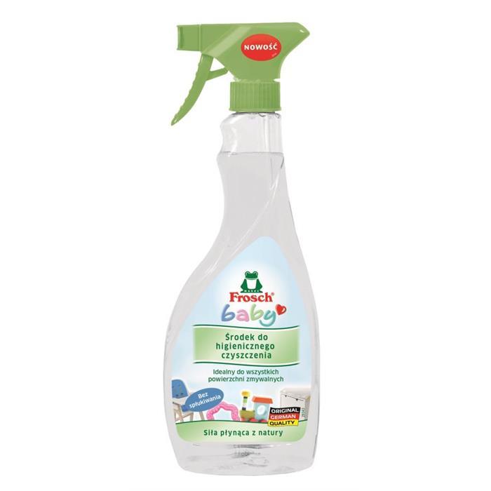Płyny antybakteryjne, dezynfekujące - Frosch Środek Do Higienicznego Czyszczenia Baby 500ml -