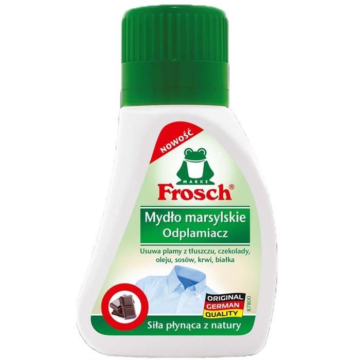 Odplamiacze do tkanin - Frosch Odplamiacz Mydło Marsylskie 75ml  -