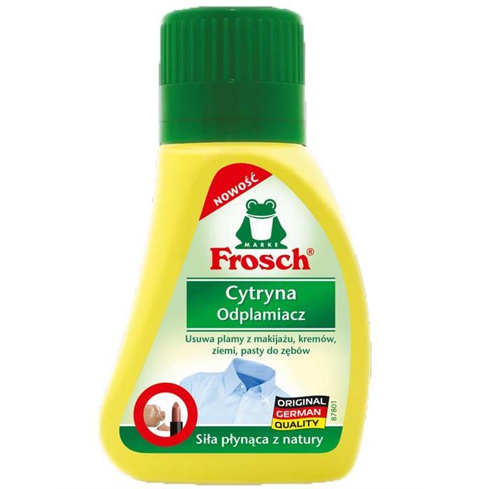 Odplamiacze do tkanin - Frosch Odplamiacz Cytrynowy 75ml  -