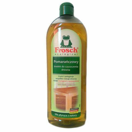 Środki do mebli - Frosch Środek Do Czyszczenia Drewna Pomarańczowy 750ml -