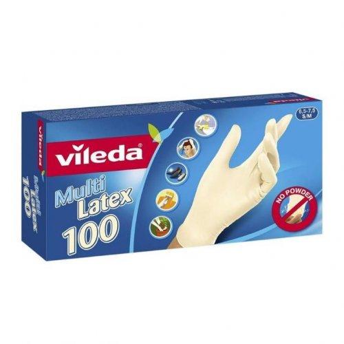 Rękawice Multi Latex 100szt 146087 Vileda