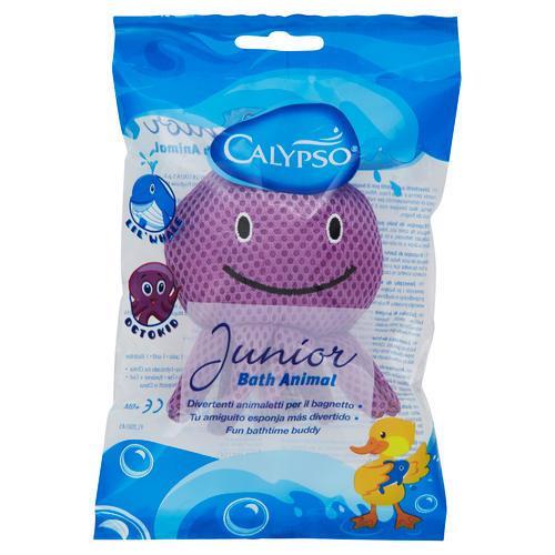 Gąbki, myjki, pumeksy kąpielowe - Spontex Calypso Myjka Dla Dzieci Junior Animal 31271005 -