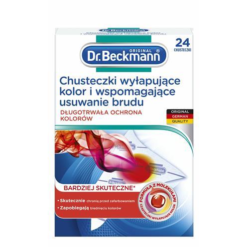 Dr.Beckmann Chusteczki Wyłapujące Kolor 24szt