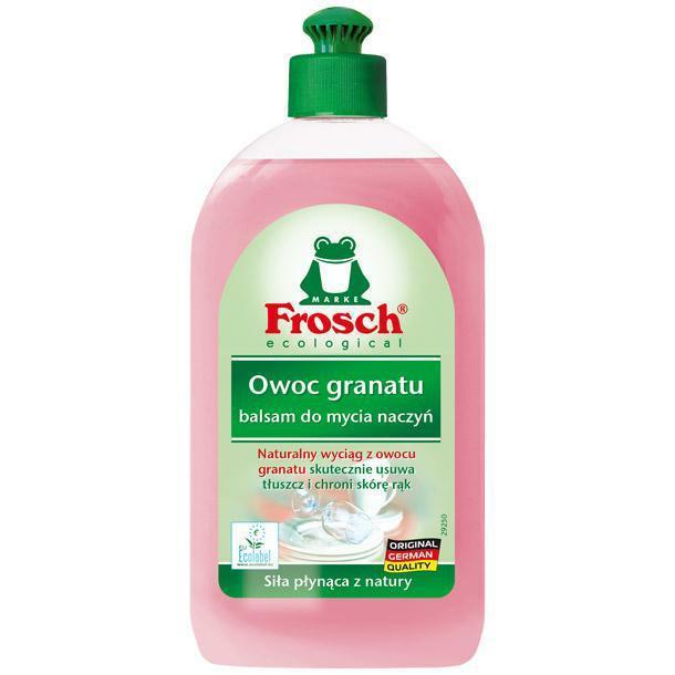 Płyny do naczyń - Frosch Balsam Do Mycia Naczyń Owoc Granatu 500ml -