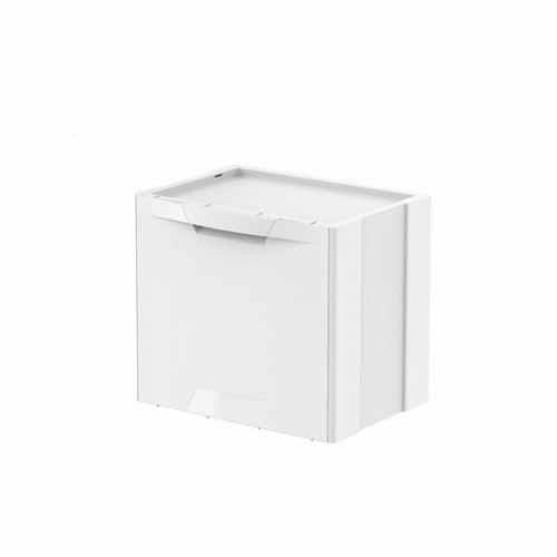 Kosz na śmieci Ecocubes 22l biały segregacja eko Meliconi