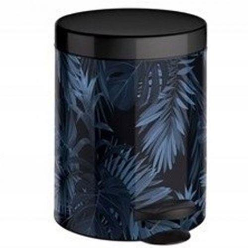 Kosze do segregacji śmieci - Kosz Na Śmieci Na Pedał 5l New Line Art Deco Botanico Meliconi -