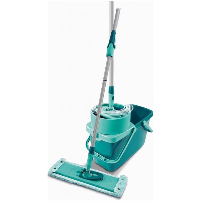 Zestawy sprzątające - Leifheit Clean Twist M Zestaw Mop Płaski 52014 -