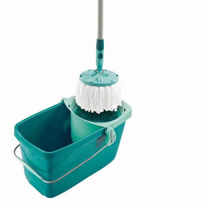 Zestawy sprzątające - Leifheit Clean Twist Okrągły Zestaw Mop + wiadro52019 -
