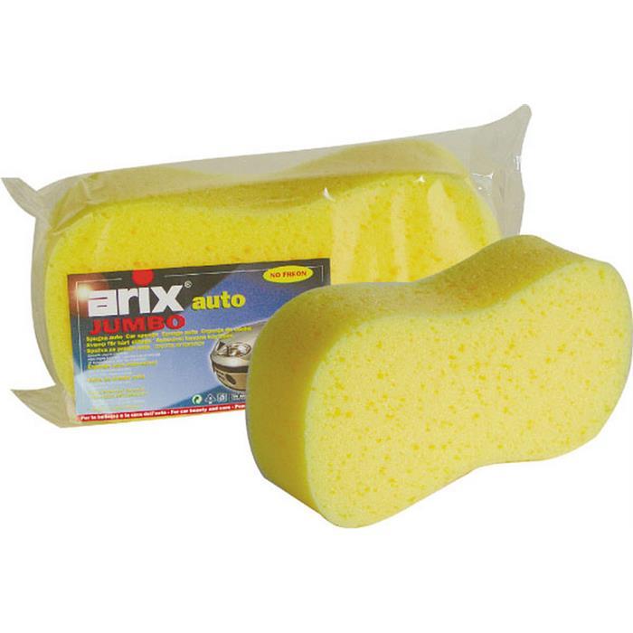 Do mycia samochodów - Arix Gąbka Samochodowa Jumbo 1068  -