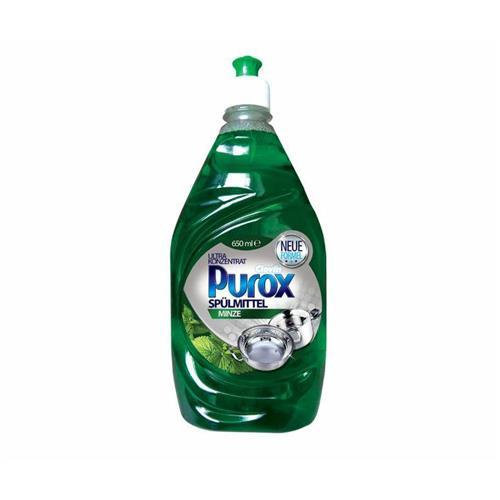 Purox Koncentrat Do Naczyń Minze Miętowy 650ml Clovin