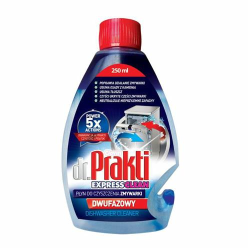 Czyścik Do Zmywarki 250ml Dwufazowy Dr.Prakti