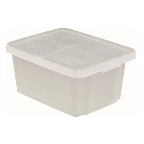 Curver Pojemnik Essentials 26l Z Pokrywą Transparentny 225448