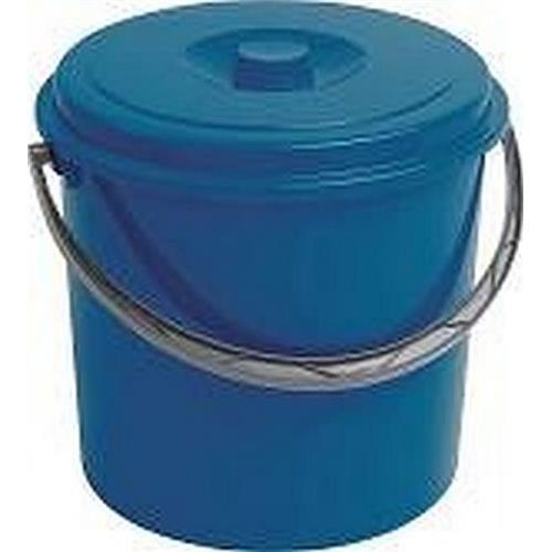 Curver Wiadro 12l Z Pokrywą Niebieskie 235239