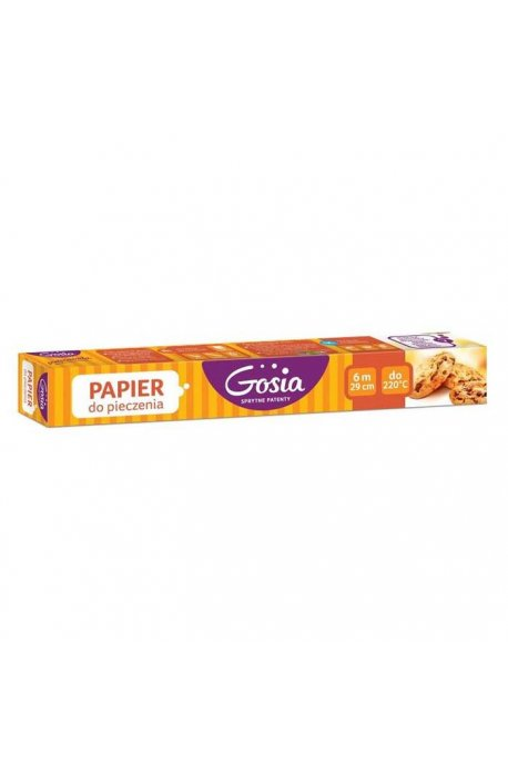 Papiery, ręczniki kuchenne - Papier Do Pieczenia Kartonik 6m 6119 Gosia -