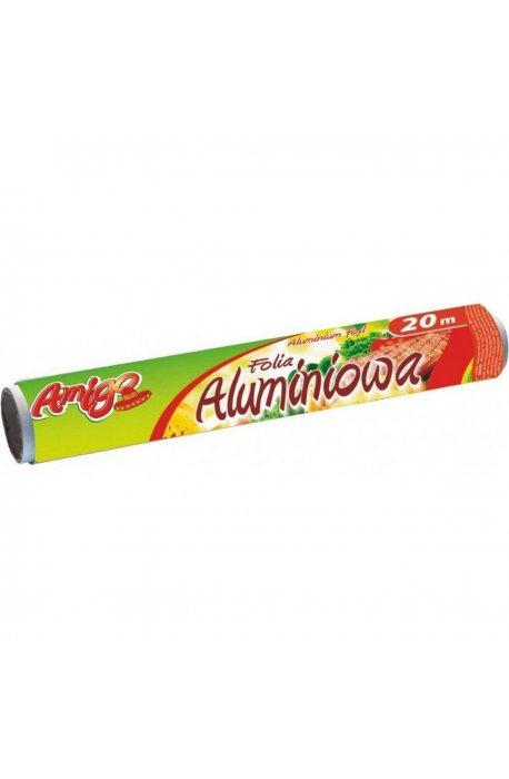 Folie, worki, papiery spożywcze - Folia Aluminiowa 20m 134  Gosia Amigo  -